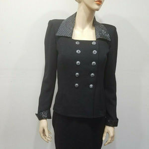 ST JOHN EVENING Dress and Blazer Suit